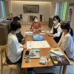 板倉サロンにて京都の学生さんたちとミーティング